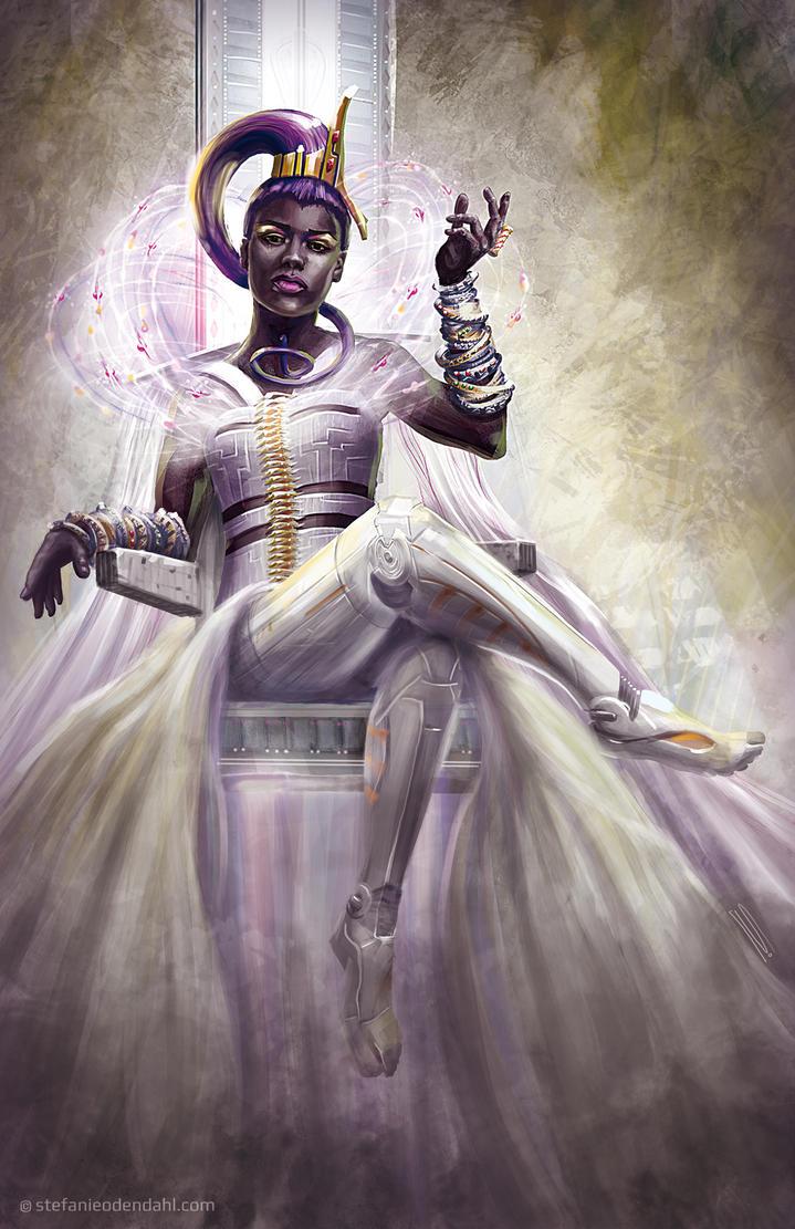 Cyber Queen by StefanieOdendahl