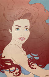 Ariel by chostopher