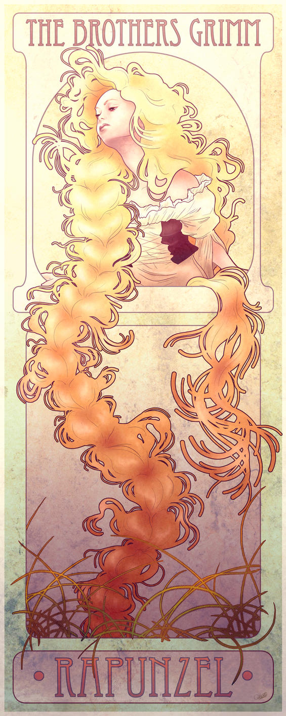 Rapunzel by chostopher