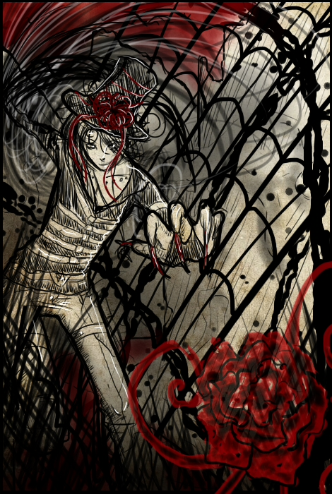 .:Blood Rose:. by miscarcandi