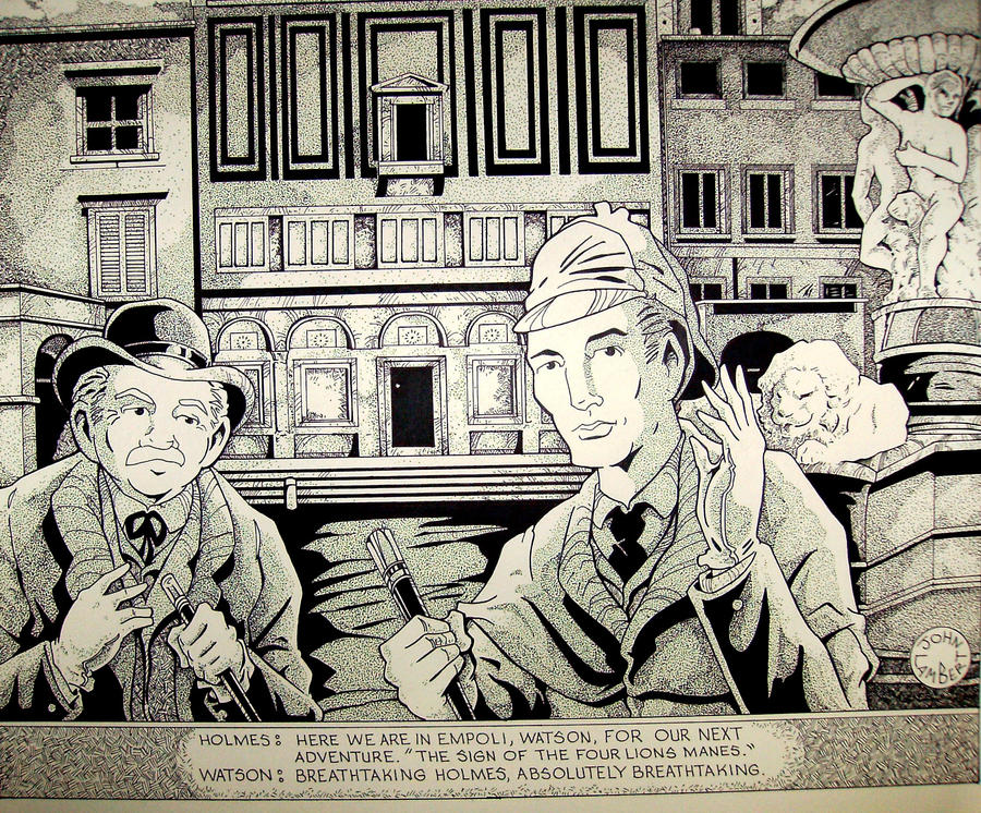 Sherlock Holmes by Batman4art