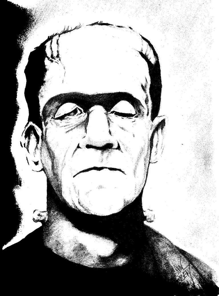 Frankenstein Monster by Batman4art