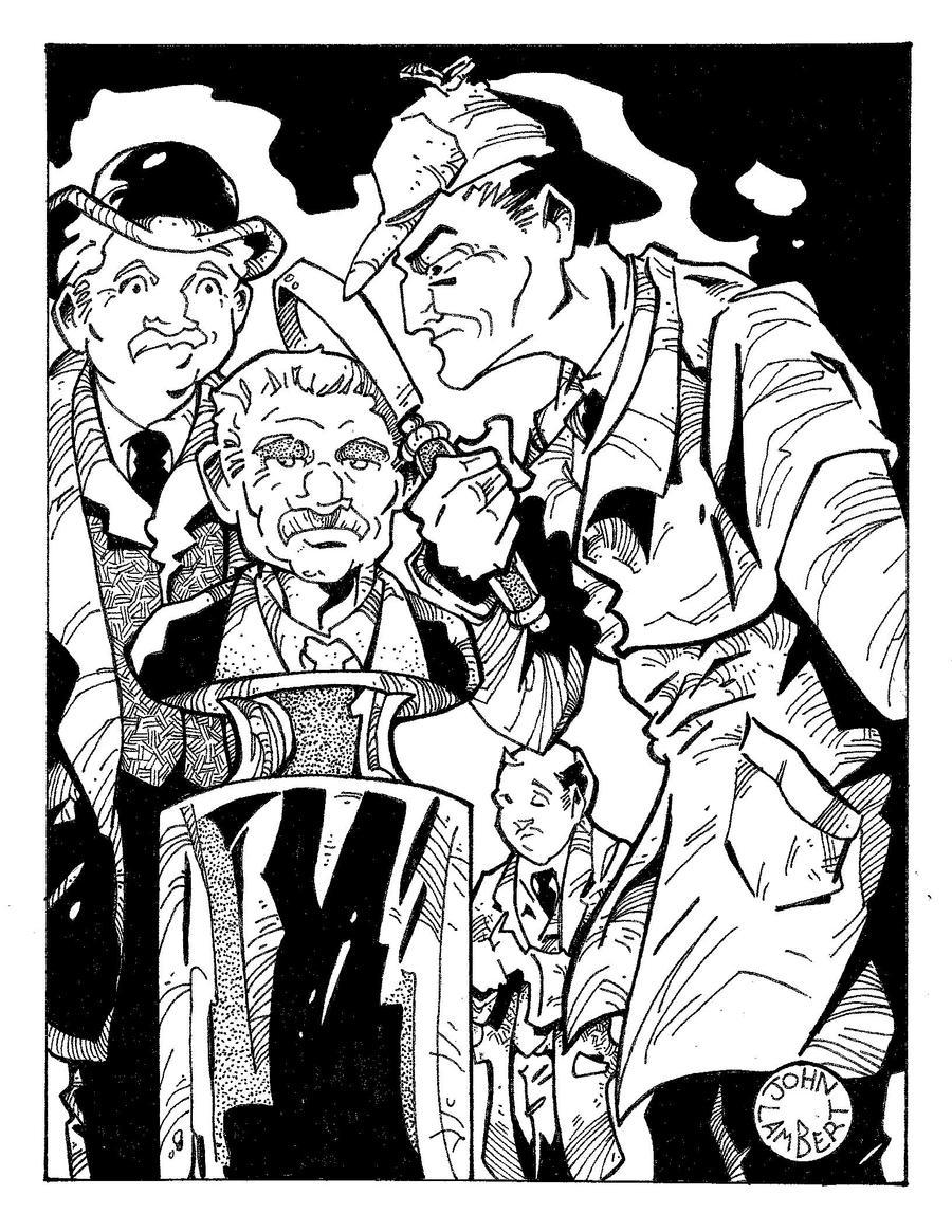 Holmes spoof by Batman4art