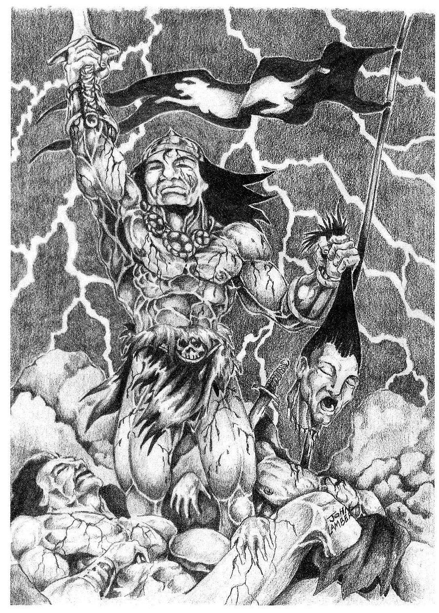 Conan the Conqueror by Batman4art