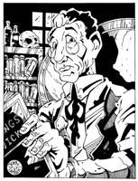 Professor Weird by Batman4art