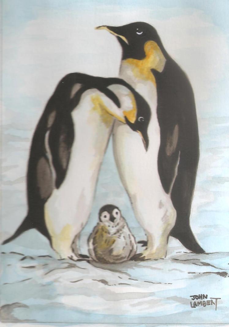Penguins by Batman4art