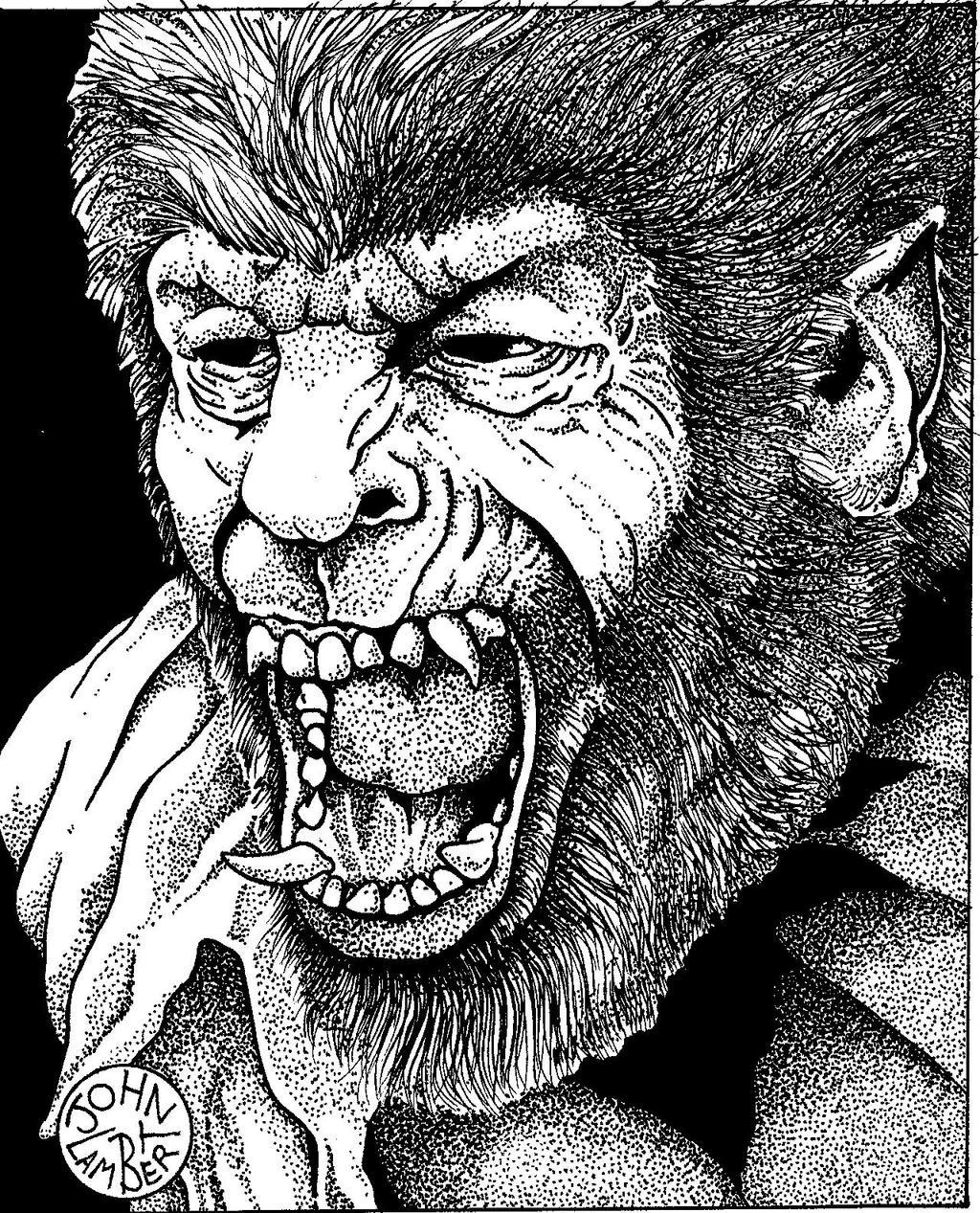 Wolfman by Batman4art