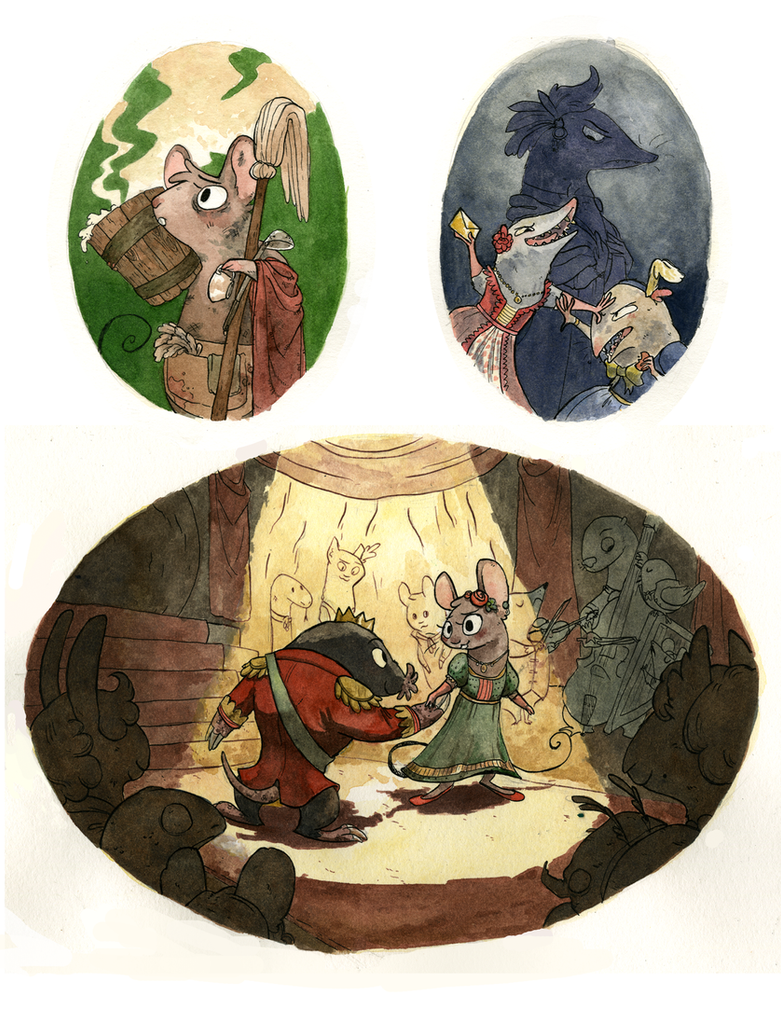 Cinderella Mice by Gearfish