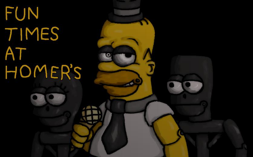 Fun Times at Homer's Wallpaper