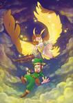 Owlboy - Otus and Geddy