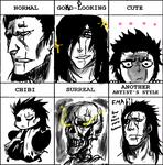Style Meme: Kenpachi Zaraki