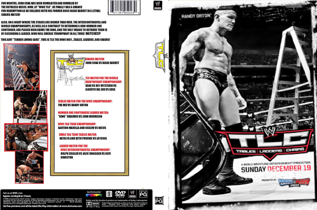 WWE TLC 2010 DVD Cover by ZT4