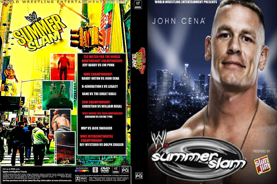 WWE Summerslam 2009 DVD Cover by ZT4