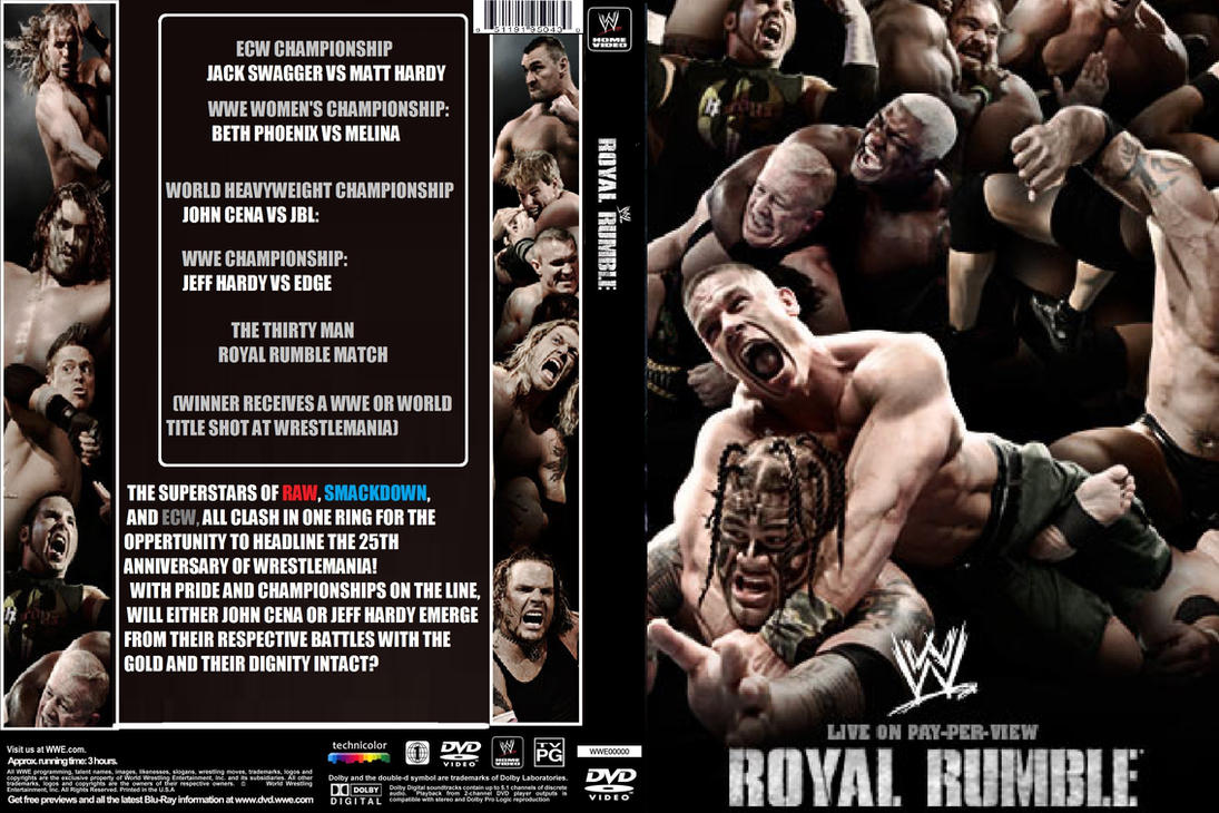WWE Royal Rumble 2009 by ZT4