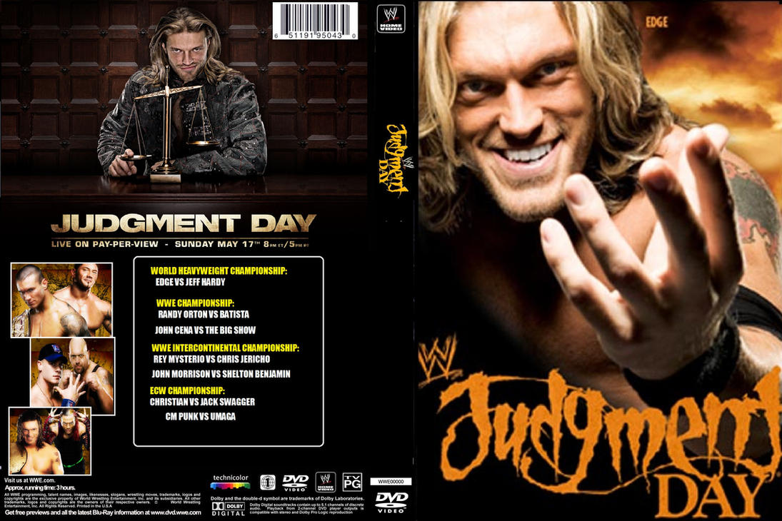 WWE Judgment Day 2009 by ZT4