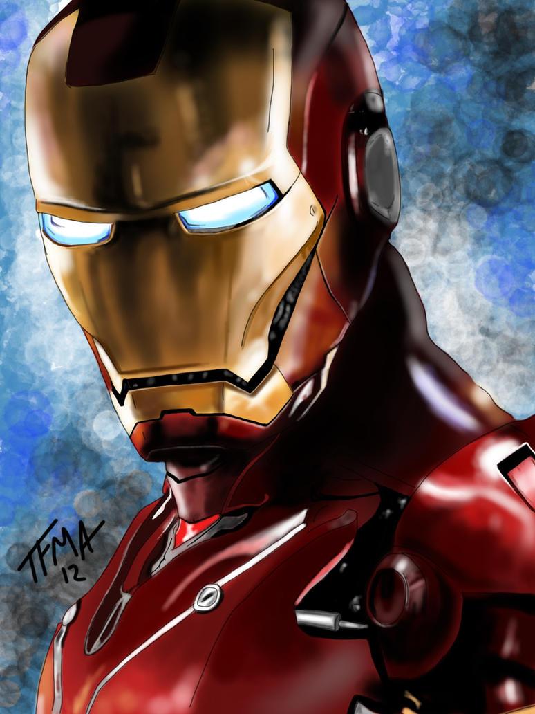 Iron Man by TheFullMetalArtist