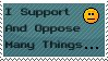 'I Support' Stamp by Torotix