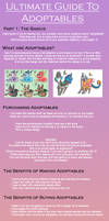 Ultimate Guide to Adoptables 1 by Torotiel