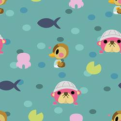 Animal Crossing Water Pattern