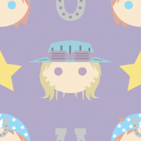 Steel Ball Run Repeating Background by Torotix