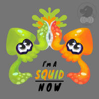 Fan Art Friday: Squid Now by Torotiel