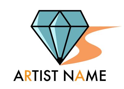 Gem Artist Logo FOR SALE by Torotiel