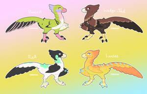 [OPEN] Adoptable Raptors