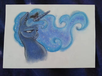 Quick drawing of Luna by DarkCherry87