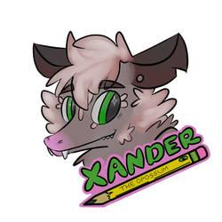 Xander FC2018 Badge by geoffwrite