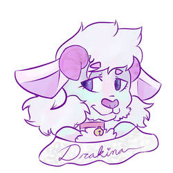 Drakina/Sheepy Badge FC18