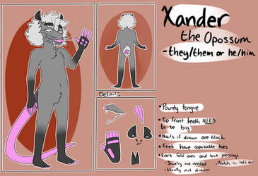 Xander Reference Sheet by geoffwrite