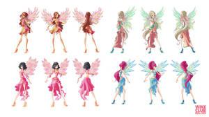 Etherix Fairy concept (commission)