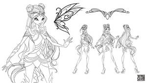 Bloomix Concept (commission)