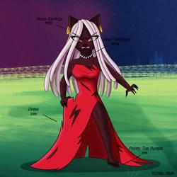 Strawberry Moon: Ruined Dress