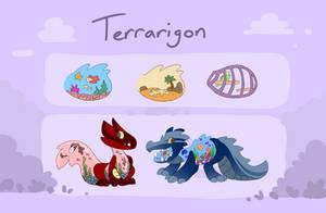 Terrarigon Ref by CometShine