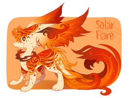 Solar Flare Astroflare Auction - Closed! by CometShine