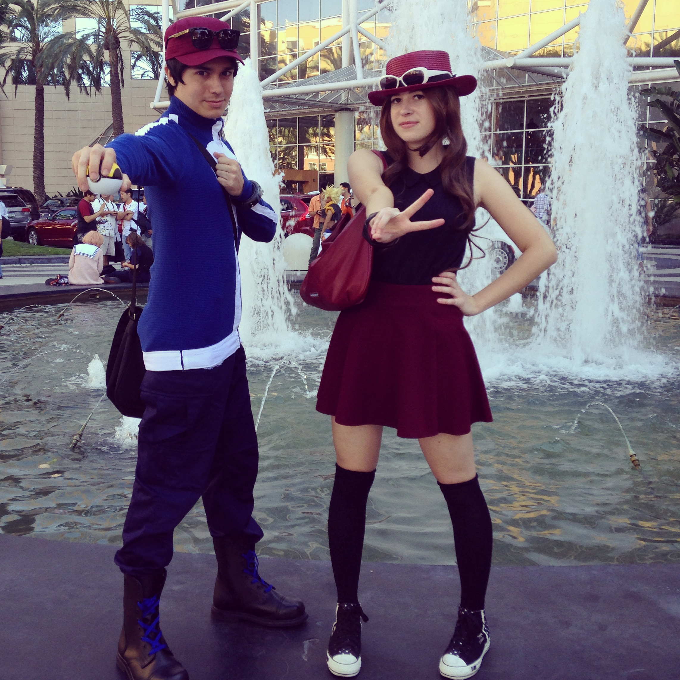 ... Pokemon Trainers X and Y Serena and Calem Cosplay by kmercks  sc 1 st  DeviantArt & Pokemon Trainers X and Y Serena and Calem Cosplay by kmercks on ...