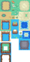 4th gen Outdoor Tileset by Akizakura16
