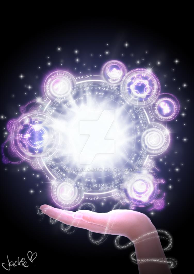 arcane magic by zeramonde