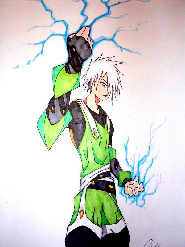 Lightning ninja by deathchain