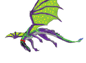 drerika's pet Spotty by DarkStatic