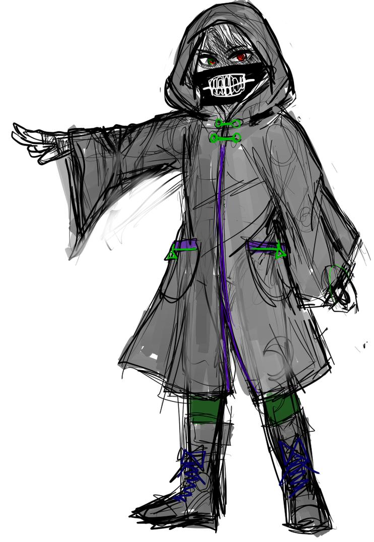 Ninjago Lloyd Cloak1 (WIP) by YASSDENSWH
