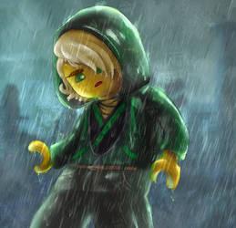 Ninjago: Movie Lloyd Rain Lego