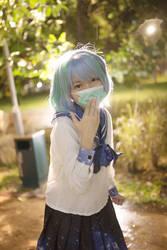Earth chan cosplay