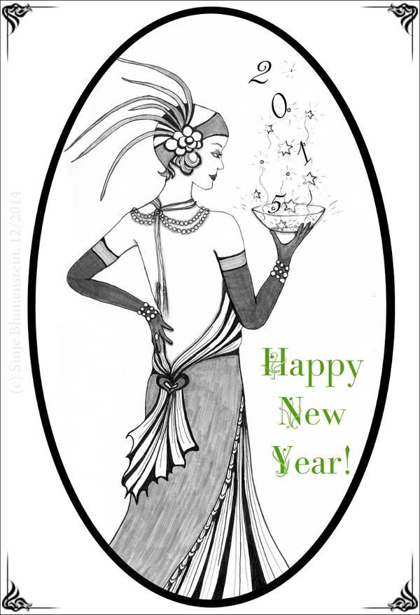 Happy New Year by Vampirbiene
