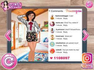 Princess Social Media Model