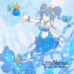 Blue Little Mermaid
