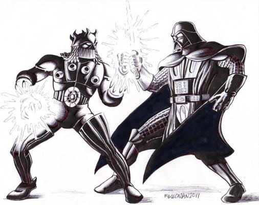 Darth Vader VS. Baron Karza