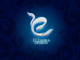 elzahra design logo by ahmedelzahra