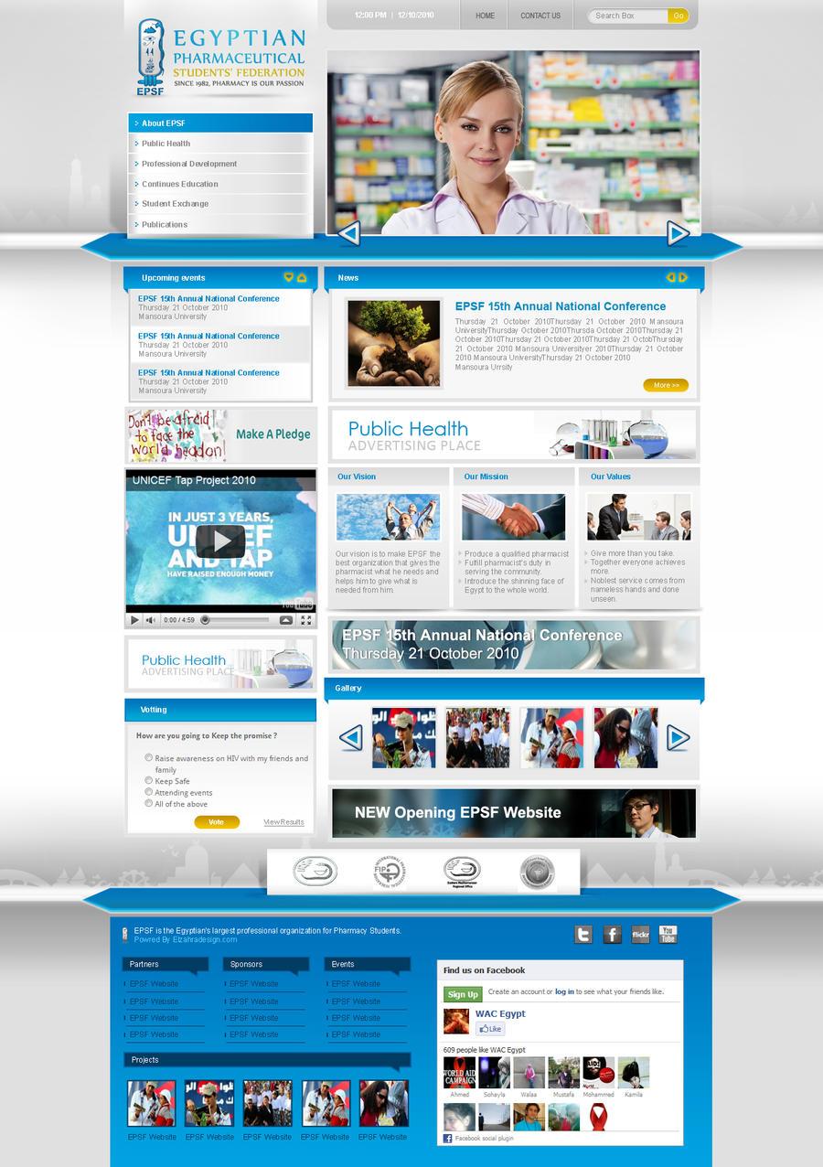 Epsf portal graphic design by ahmedelzahra on deviantart for Portale design